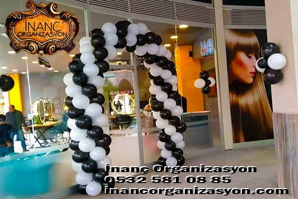 Açılış balon süsleme organizasyonu