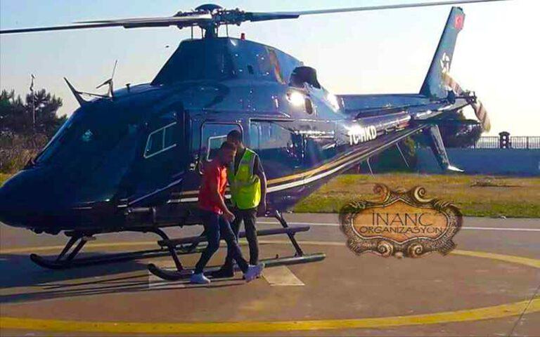 saatlik Helikopter kiralama ücretleri