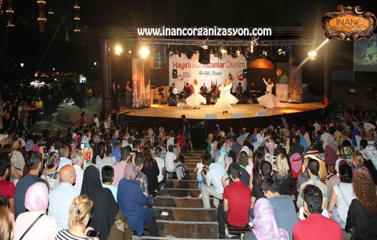 ramazan konseri semazen gösterisi etkinlikleri