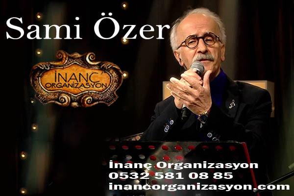 Sami Savni özer Konser organizasyonu